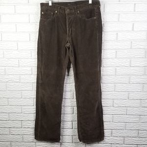 Marc Jacobs Corduroy Pants 32x34 Loden Button Fly